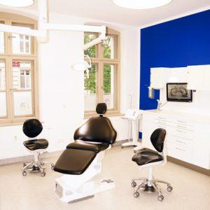Behandlungsraum - Potsdam Oralchirurgie