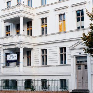 Außenansicht der Praxis Potsdam Oralchirurgie